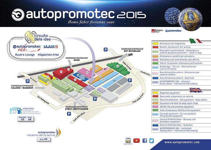 Mappa autopromotec2015
