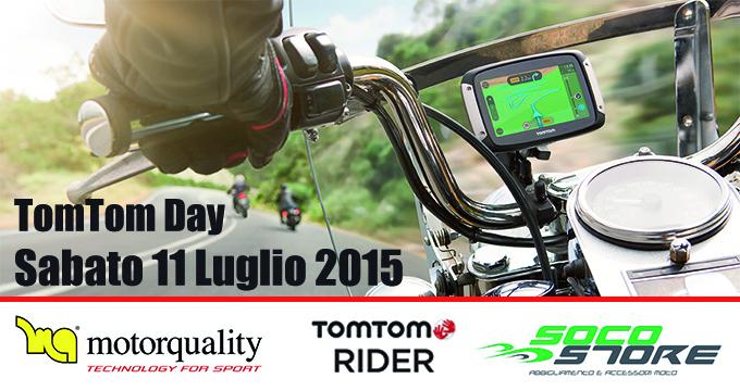 Motorquality  in collaborazione con Socogas Store organizza il TomTom Day