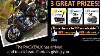 Cardo lancia un Contest su Facebook: Partecipa e vinci il tuo Scala Rider!