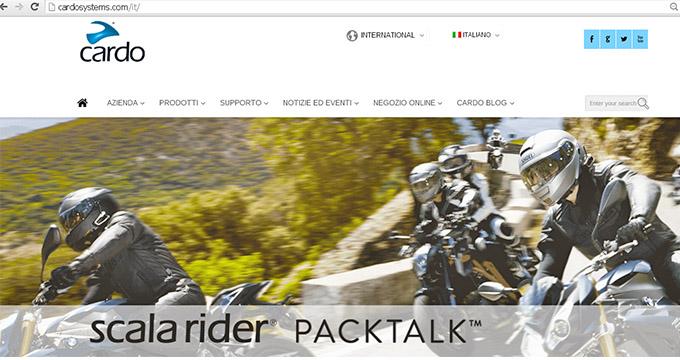 Motorquality annuncia il lancio del nuovo sito Cardo: online dal 2 Luglio 2015