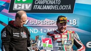 CIV 2018 – Parte la stagione e Manfredi del Team Rosso e Nero conquista la leadership.