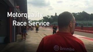 Motorquality Race Service ad Imola.