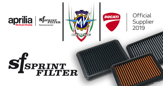 Filtri aria Sprint Filter in poliestere: Feel the Difference!