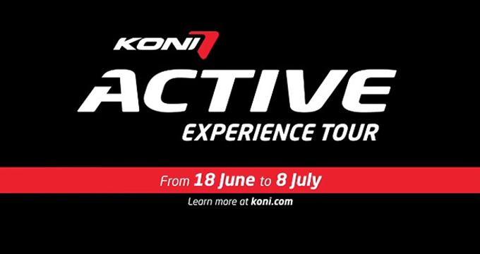 KONI Active Experience Tour: sei auto in giro per l'Europa!