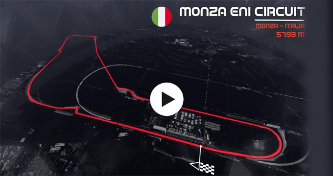 Evidenza Filmato F1 Monza