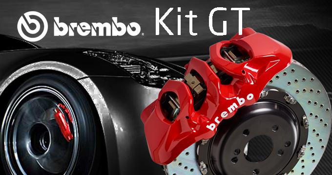Goditi prestigio e performance: scegli il Kit brembo GT!