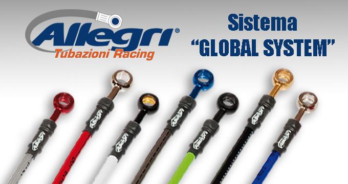 Cerchi i tubi per la tua moto? Scegli il sistema semplice e rivoluzionario Allegri Global System.