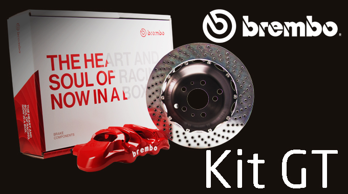 La tua auto merita Brembo: scegli il prestigioso Kit GT.