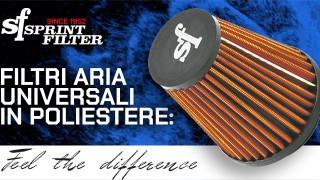Tecnologia Sprint Filter: scegli il filtro aria in poliestere!