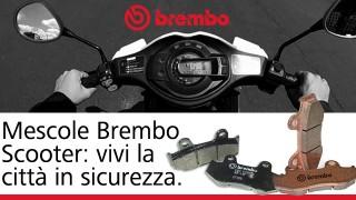 Brembo Mescola XS: la pastiglia ideale per scooter e maxi scooter.