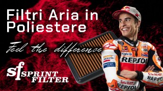 Feel the Difference con i filtri aria in poliestere Sprint Filter!