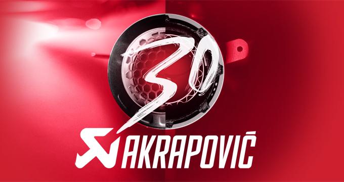 Akrapovic: un patrimonio costruito in 30 anni.