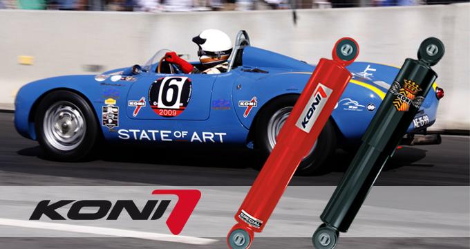 Ammortizzatori Classic: scopri la linea KONI per vetture classiche e youngtimer.