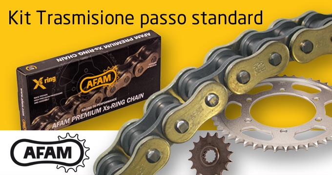 Kit Passo Standard AFAM: perfetto per le lunghe percorrenze con prestazioni superiori all'originale.