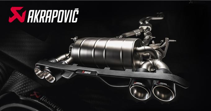 Scarichi AKRAPOVIC: Pure Performance!