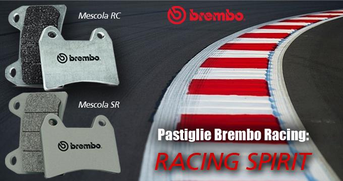Brembo Racing Pastiglie: perfette per una staccata micidiale.