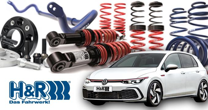 Assetto H&R: per controllo e una guida eccellenti.