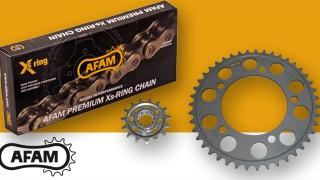 Prestazioni ma anche leggerezza? Il Kit AFAM passo 520 è la soluzione ideale per la tua moto!